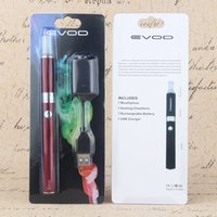 цвет EVOD MT3 блистер комплект Evod эга Starter Kit С Evod Аккумулятор MT3 Форсунки Clearomizer Rechargable 650mAh 900mAh 1100mah Mix Доступные