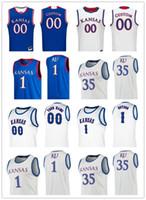 2020 Kansas Jayhawks Koleji Basketbol Jersey Devon Dotson Marcus Garrett Jersey Hıristiyan Braun Dajuan Harris Yosun Özel Herhangi Bir Adı Stitche