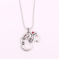 Ом Ганеш ювелирные изделия Слон Ожерелье Индуистской Йоги Религиозный Талисман Ожерелье Цепи Змейки