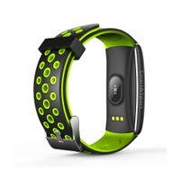 Q8S Smart Armband Pulsmesser Blutdruck Blut Sauerstoff Smart Watch Fitness Tracker Schlaf Wasserdichte Armbanduhr Für iPhone Android