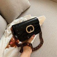 Sac à main pour femme Sac femme 2021 Haut-gamme sauvage Pochette acrylique # 1206 Bandoulière Bandoulière Polyvalente Messenger New Chain Apoks