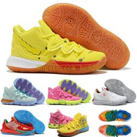Kids Womens Kyrie 5 V Squidward PATRICK STARS Basketball Sho...