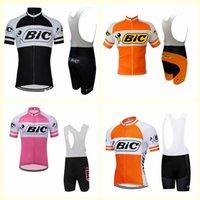 BIC Team Cycling Manica corta Jersey (Bib) Bib Bike Racing Abbigliamento Bicicletta Abbigliamento Bicicletta Summer Manica Corta Camicia B612-39