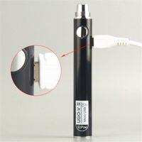 100% Original UGO V II 650 900 mAh EVOD eGo T 510 Faden Vape Pen Batterie Micro USB Passthrough Vape Batterien e Cigs Vaporizer