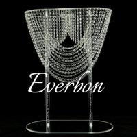 Блестящие Овальная форма кристалла акрилового бисера свадебных цветов стенд центрального стол декор для украшения партии события свадьбы
