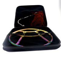 2019 أحدث MKS06-5 rainbow shibari ring تصميم خاص من الجراحية الفولاذ المقاوم للصدأ عبودية والعتاد shibari الدائري صب خاص للزوجين