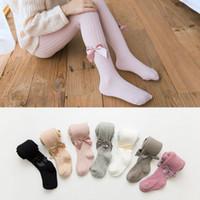 Novo macio macio bebê calças arcos algodão crianças leggings bebê outono casual menino menina calças infantil criança calças roupas