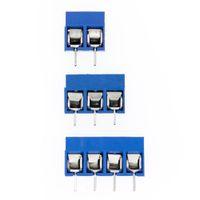 KF301 2P / 3P / 4P Blue KF301-5.0 Śruba 5.0mm Prosto PIN PCB Śruba Złącze Złącze Złącze