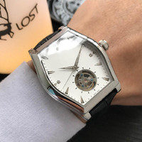 2019 New Fashion Mens Brand Leather Automatic Mechanical Wat...