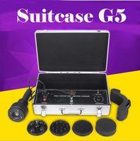 Bavul G5 Kilo Kaybı Titreşimli Selülit Masaj Yağ Azaltma Tam Vücut Zayıflama Güzellik Makinesi 5 Kafaları Masaj Ev Salon Spa Kullanın Equp