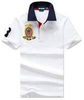 Trade Mens Polo Shirt Big Pony Embroidery 2020 New Summer Sh...