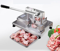 Manuel Manuel Coupe De Porc Chop Os Pieds En Acier Inoxydable Viande Trancheur Levier Principe Piste Structure Bone Sawing Machine