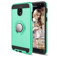 Pour HTC M8 M9 PLUS Desire 626 530 BOLT 526 360 Anneau KickStand Double Couche Résistant Magnétique Couverture Arrière CASE