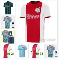 20/21 Ajax Maillots de football 20 21 # 10 TADIC HUNTELAAR Neres homme Uniforme enfants Kit # 6 VAN DE BEEK # 11 PROMES DEST ZIYECH Football Shirt