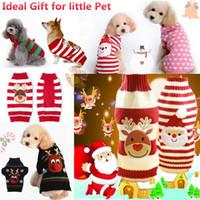 Pet Dog Vêtements Costume de Noël Vêtements mignons Cartoon petit chien en tissu Costume robe de vêtements de Noël pour chiens Kitty