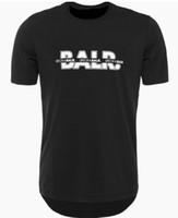 2019 balr تي شيرت أزياء الصيف نمط balred تي شيرت الرجال قصيرة الأكمام الزى الملابس جولة القاع طويل العودة balr t-shirt حجم الأوروبي