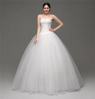 Élégante chérie Tulle mariage simple robe de dentelle Western Country mariage Appliques Robes Plus Size Robes de mariée bon marché vestidos de novia