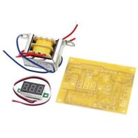 LM317 Kit de Placa de Fonte de Alimentação Ajustável Kit de Treinamento de Potência Peças de Produção Eletrônica DIYFácil de instalar e manter