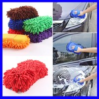 Car Auto Detailing Towel Chenille Car Wash Gloves Brushes Mi...