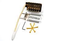 Niko oro chitarra elettrica Ponte Tremolo Bridge System Per Fender Strat Style chitarra elettrica di trasporto