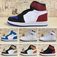 hot sale online 16d96 b9205 Nike Air Jordan 1 4 6 11 12 13 2019T 1 OG Herren Basketball-Schuhe
