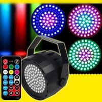 RGBW LED Par Light 78 LED Strobe Light DMX Disco Party Lights RF Wireless Remote Control Bar Club DJ Stage Lighting