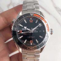 10 Renk Mens Otomatik Cal.8900 İzle Turuncu Siyah Mavi Erkekler Apne Tam Çelik James Bond 007 Okyanus Dalgıç 600m Planet Profesyonel Saatler