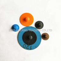 20000pcs / 16mm Cambio rápido Disco-R Botón de plástico para abrasivos
