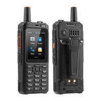 Uniwa Alps F40 Téléphone portable Zello Talkie-walkie IP65 Etanche FDD-LTE 4G GPS Smartphone MTK6737M Quad Core 1 Go + 8 Go de CellPhone