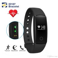 ID107 Smart Bracelet band Fitness Tracker Activity Heart Rat...