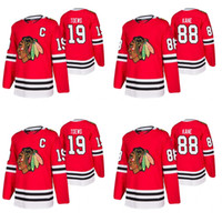 Mens 77 Kirby Dach Jersey Chicago Blackhawks Andrew Shaw Duncan Keith Patrick Sharp Jonathan Toews Brent Seabrook Patrick Kane Maglie