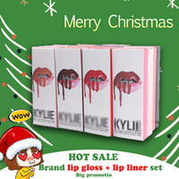 2 in 1 Lip Gloss + Lip liner set Kyli e Jenner Cosmetics Lip...