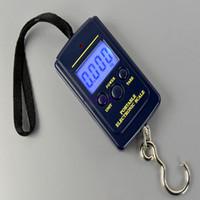 300pcs 40kg Digital Handy Scales 88Lb 1410oz LCD Affichage suspendu échelle de poids de pêche
