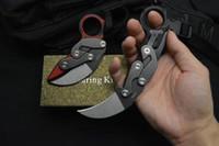 Nuovo 2019 Caswell Morphing coltello tattico meccanico Karambit 14C28N Black Stone Wash Blade G10 Maniglia EDC coltelli tascabili Regalo di Natale C81 BM42