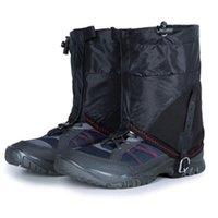 Unisexe Legging Gaiter Leg Cover Imperméable À L'eau Sandproof Leg Protector Neige Coupe-Vent Camping Randonnée Bottes Chaussures Couvre