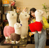 Alpaca Plush Doll Toys Cute Stuffed Llama Alpacasso Stuffed ...