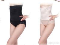 Tamanho livre 2 Cores Apoio Após O Parto Recuperação Barriga / Cintura Cinto Shaper Maternidade Slimming Body Correia Pós-parto Tummy Shaper frete grátis