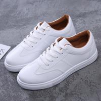Freizeitschuh Stücke Student weiß und junge Mädchen, weißen Schuhe 2018 fallen neue weibliche Schuhe koreanische Version der niedrigen flache Sohlen Krawatte
