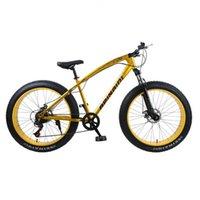 Mountain bike 4.0 grasso gomma della bicicletta neve spiaggia freno a doppio disco bici bicicletta carbonio luce montagna in acciaio