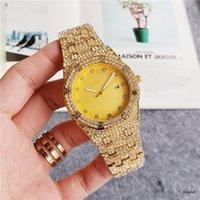 mens luxo 2020 Mens Fashion Sport Watch Luxo Esporte Relógios de aço inoxidável diamante Iced Assista Audemars P relógio relógios montre de luxe