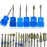 Nail Drill Bit Rotate Burr Milling Cutter Bits For Manicure ...
