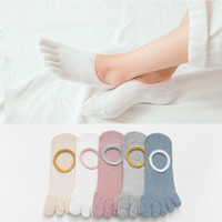 1 Pairs Lot Autumn New Non- Slip Boat Sock Solid Color Simple...