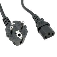 6ft UPS PDU Verwendung Eu 3-Pin-Stecker auf IEC 320 C14 rechten Winkel 16A 250V Netzkabel