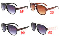 neue Ankunft des Sommers Männer Kunststoffrahmen Fahrradfahren Sonnenbrille Frauen Sonne sprot treibende Brille Marke im Freien Reise Brille 4color freeship