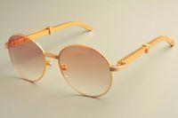 2019 yeni ücretsiz gönderim sıcak satış yuvarlak çerçeve 19900692 güneş gözlüğü, retro moda güneşlik, paslanmaz çelik metal tapınak güneş gözlüğü güneş gözlüğü