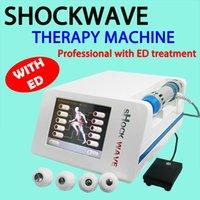 reducción de la celulitis tratamiento de adelgazamiento Equipo de choque radiales Fisioterapia Ondas de Choque Máquina TOCH Wave fisioterapia para Ed
