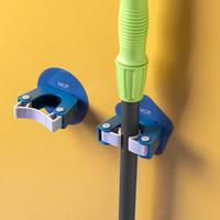 Mop Hook forte aspirazione a parete Sucker gancio Bagno impermeabile scopa del Mop di stoccaggio rack di alta qualità in plastica Appendini Home Decor