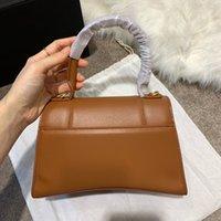 Classic Hootglass Shape Alligator Handbags Flap Cadena Bolsas de hombro 23 cm 20 cm Mujeres Clutch Messenger Bag Purse Shopping Tote Wellt