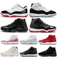11 11s zapatos de baloncesto Bred atasco del espacio Concord 45 Platinum Tint XI Hombres Mujeres Zapatos de diseño Tamaño Sport zapatillas de encaje 5,5-13