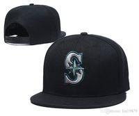Mariners S Brief Baseballmütze gorras für Männer Frauen Art und Weise Hip-Hop-Knochen Marke Hut Sommersonne casquette-Hüte
